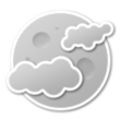 Mostly cloudy (night)